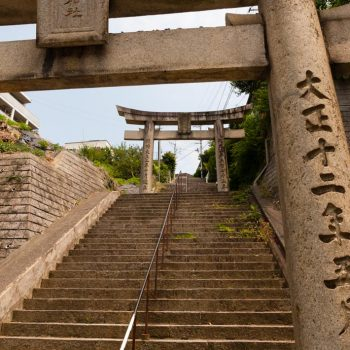 Steps between Torii